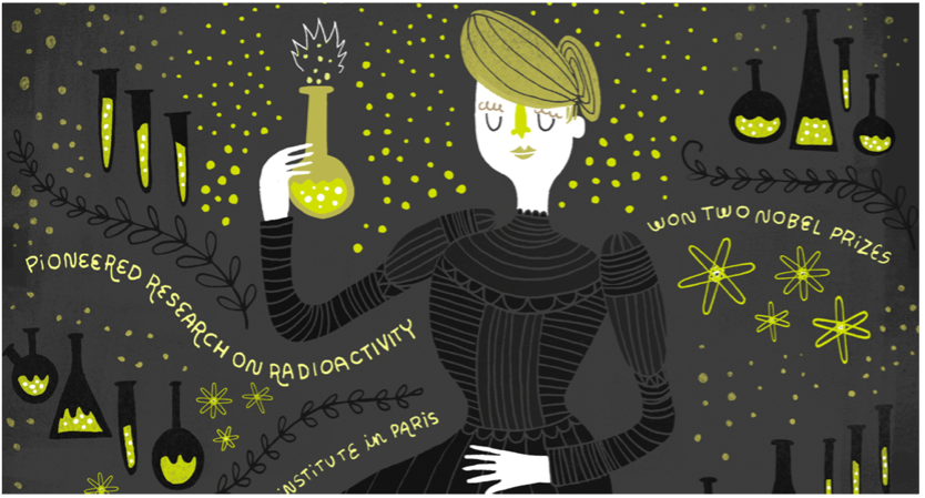 Making Women in Science Visible – a TedTalk and Book by Rachel Ignotofsky